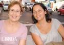 Liane Scherer e Mariele Schiefelbein