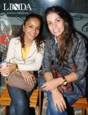 Franciele Lima e Sabrina Bordignon