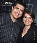 Cleber  Ortiz e Nilce Velloso