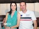 Raquel Mazuim e Celso Elesbão