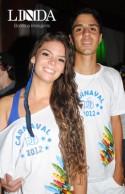 Thaís Cavalheiro e Gabriel Guterres