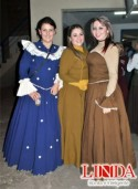 Carolina Erhardt, Gabriele Rosa e Aline Moraes