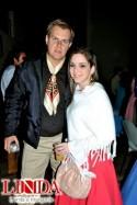 Márcio Neves e Caroline de Oliveira