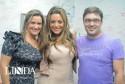 Deise Pereira, Monique Amin e João Ilha