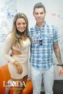 Monique Amin e Bernardo Silveira