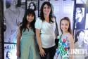 Liziane Larrondo com as filhas Alice e Julia