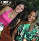 Tatiana Lopes e Samira Carvalho