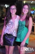 Vitória Tavares e Lauren Oliveira