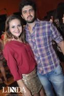 Andressa Ribeiro e Tiago Paz