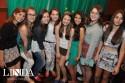 Meninas da nova geração no Broto Cachoeira