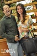 Victor Pontes e Luiza Schuh