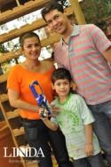 Patrícia, Berto e Daniel Flor
