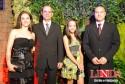 Patrícia Vargas da Rosa e Maurício da Cunha Muller com Larissa e Rodrigo da Rosa