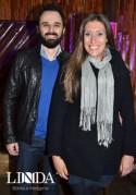 Eduardo Casarotto e Ana Dias