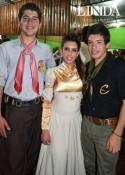 Guilherme Roos, Sabrina Porto e Gelson Junior