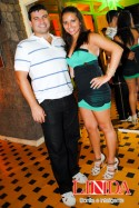 Samir Thomaz e Catherine Cruz