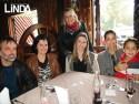 Júlio Gonçalves, Isabel Bernardi, Greice Bernardi, Daniela Schreiner Franciele Hassler e Eduardo Trevisan