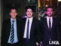 Rafael Marques, Rodrigo Mourales e Ronaldo Kasper